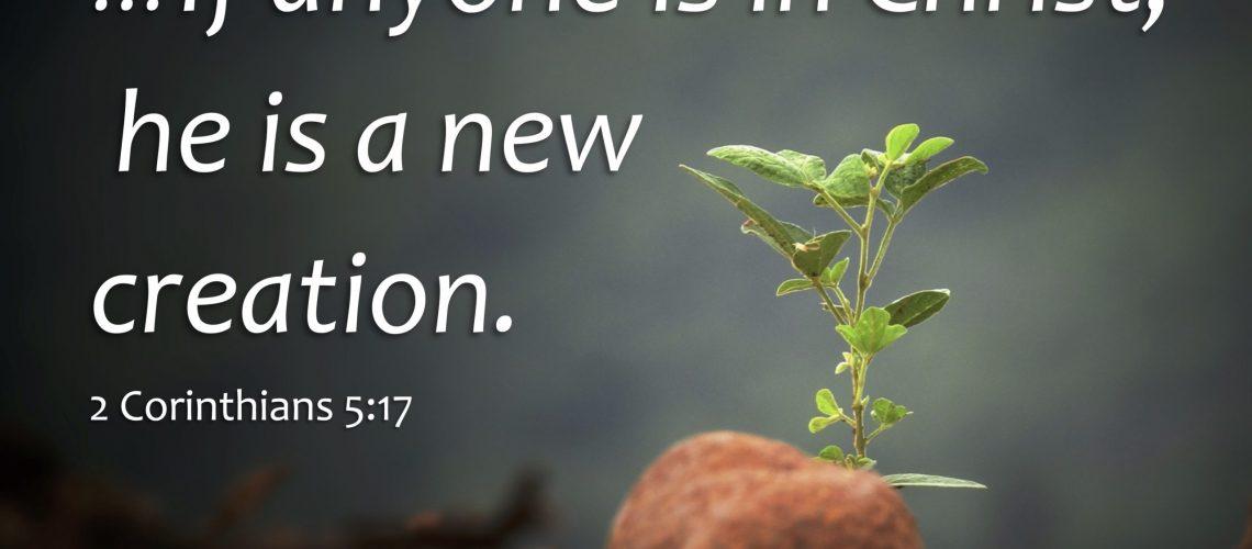 2 Cor. 5.17