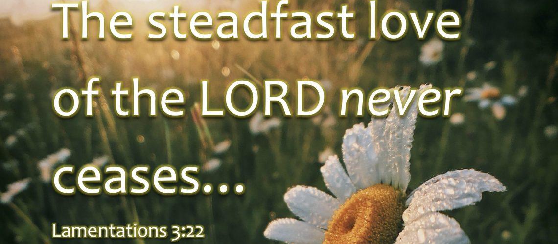 Lamentation 3.22